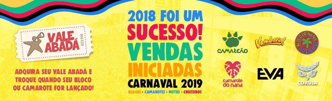 Compre aqui Blocos, Camarotes, Hotéis e Cruzeiros! Aqui você faz seu Carnaval de Salvador 2017